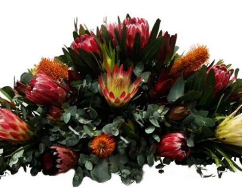 Australian-Natives-background Floral arrangements above and beyond funerals