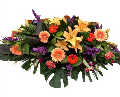 Above and Beyond funerals Gold Coast Sunshine Coast Brisbane Flowers Casket Spray