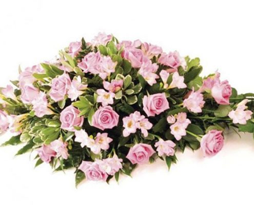 pink-roses Floral arrangements above and beyond funerals