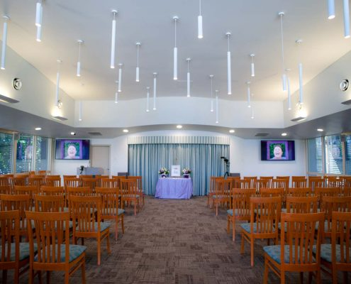above and beyond funerals allambe memorial park venue