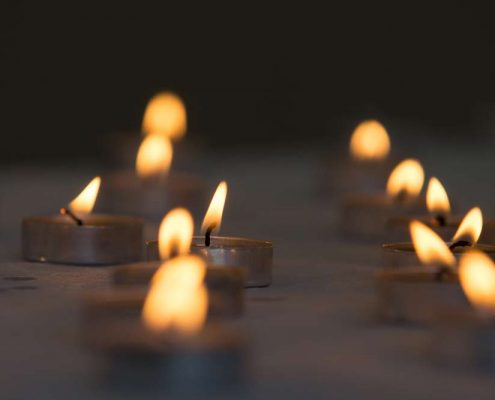 candle ceremony above and beyond funerals