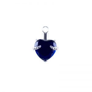 blue heart jewelry by above and beyond funerals gold coast