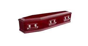 Double raised lid wood above and beyond funeral services gold coast