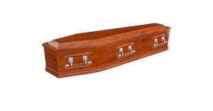 Double raised lid 2 wood above and beyond funeral services gold coast